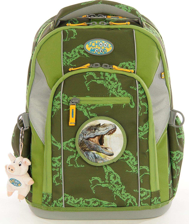 School-Mood Schulranzen-Set 7-tlg Loop Rex Dino Rex Rex Rex Dino B077VX5JD4 | Gute Qualität  | Ich kann es nicht ablegen  | Spielen Sie das Beste  d1c4fe