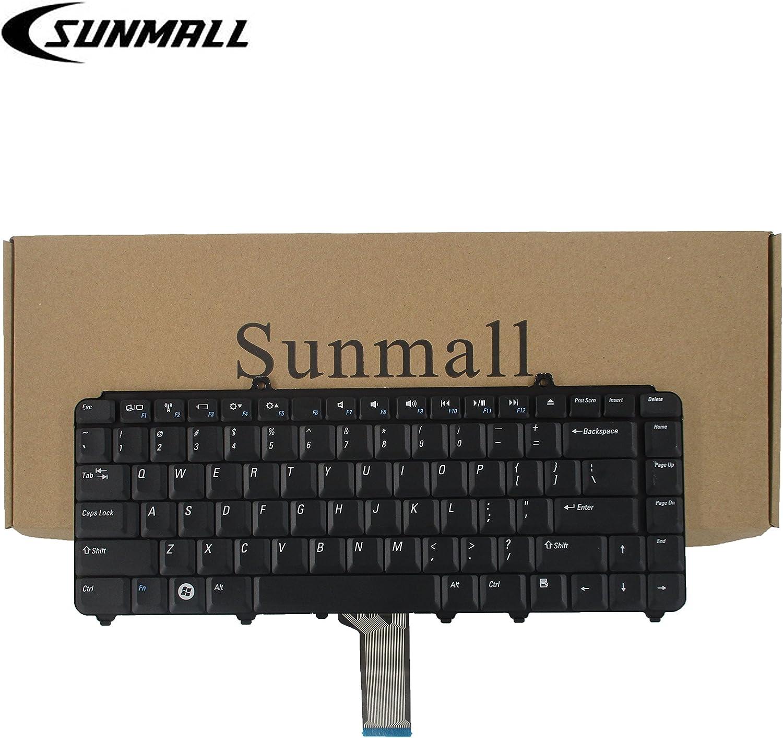 Eathtek Replacement Keyboard for Dell Inspiron 1545 1540 PP41L P446J NSK-D9301 NSKD9301 Series Black US Layout