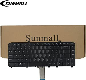 SUNMALL Keyboard Replacement Compatible with Dell Inspiron 1545 1525 1420 Laptop US Black