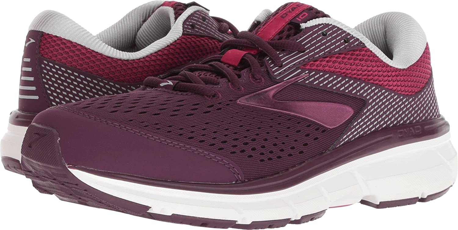 Brooks 10 Womens Dyad 10 Brooks B077KL33PT 10.5 B(M) US|Purple/Pink/Grey efd75b