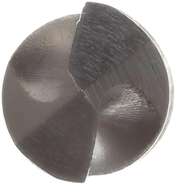 Black Oxide Finish Precision Twist R18A High Speed Steel Jobber Drill Bit 118 Degree Split Point Spiral Flute Pack of 12 Round Shank 47