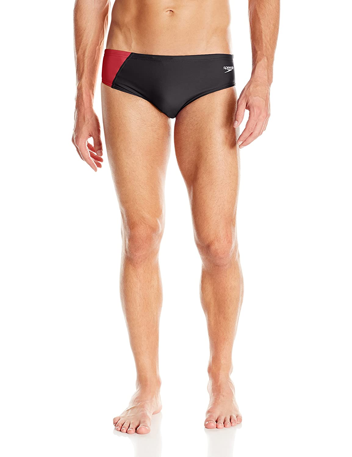 Speedo Men's Revolve Splice Brief Swimsuit 8051651