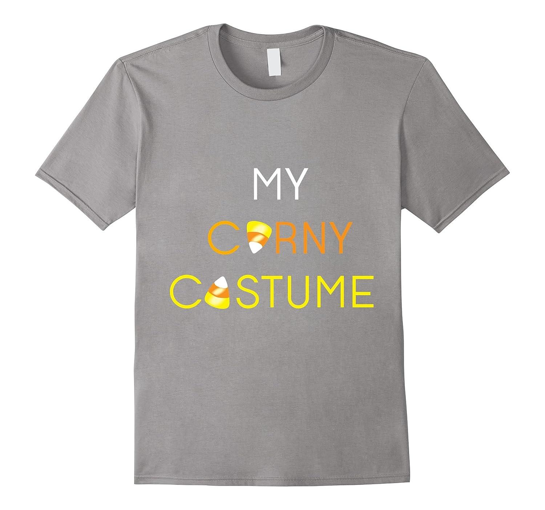 My Corny Costume - Halloween Holiday Candy Corn T Shirt-T-Shirt