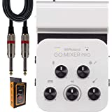 BOSS Roland GO:Mixer PRO Smartphones with 9-in/2-out Audio Line Mixer (Battery, USB) with +48V Phantom Power + 1/4…