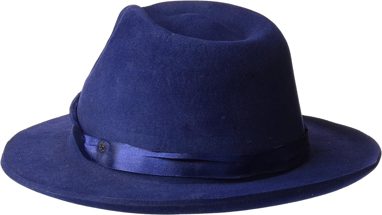 Rubies Spain S9010 Color azul Talla /única Rubies- Sombrero g/ánster