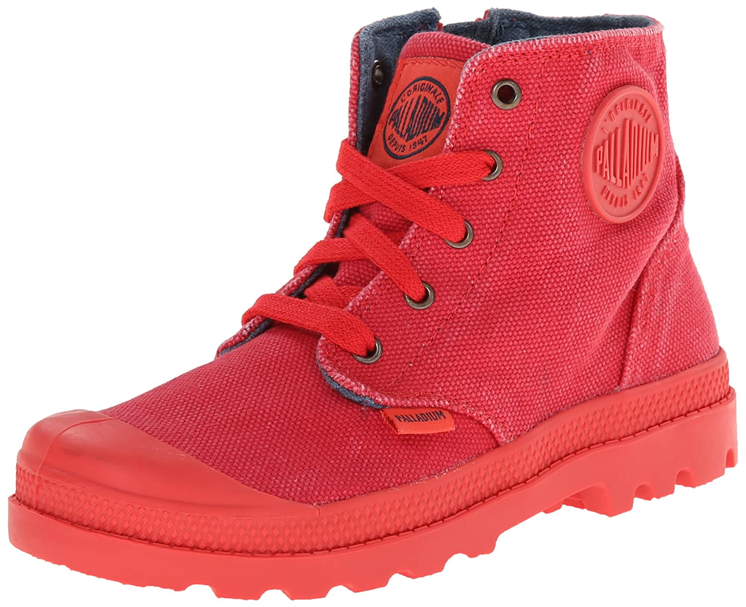 Palladium Pampa Hi Zipper Boot (Little Kid) PAMPA HI ZIPPER - K