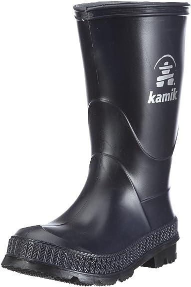 Kamik Unisex-Kinder Stomp Gummistiefel, Schwarz (Black-Noir), 26 EU