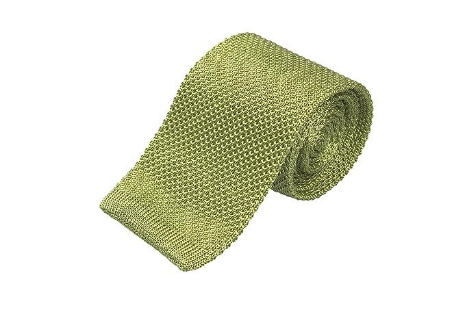 Necktie - Solid black moss knit in matte wool with bobtail edge Notch 9iKTnplAQt