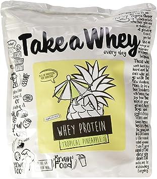 Take-A-Whey Batido de Proteína de Suero, Piña Tropical 900 g ...