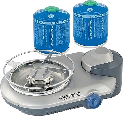 Hornillo de gas Campingaz Bistro 300 Equipster inklsuive 2 x ...