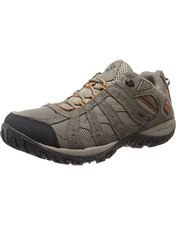 Columbia Mens Redmond Waterproof Low Hiking Shoe, Advanced Traction Technology