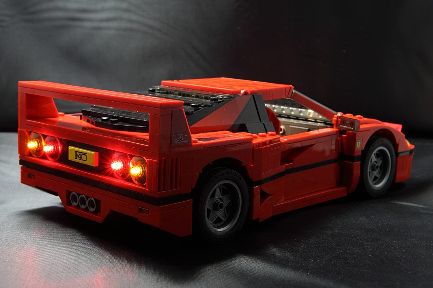 Amazon.com: Brick Loot Lighting Kit for Your Lego Ferrari F40 Set 10248 (Lego Set NOT Included): Toys & Games