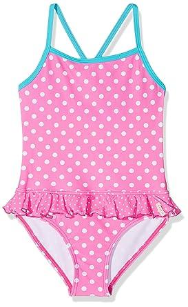 abgeholt Finden Sie den niedrigsten Preis Qualität ESPRIT Mädchen 018EF7A015 Badeanzug, Rosa (Pink 670), 92 ...