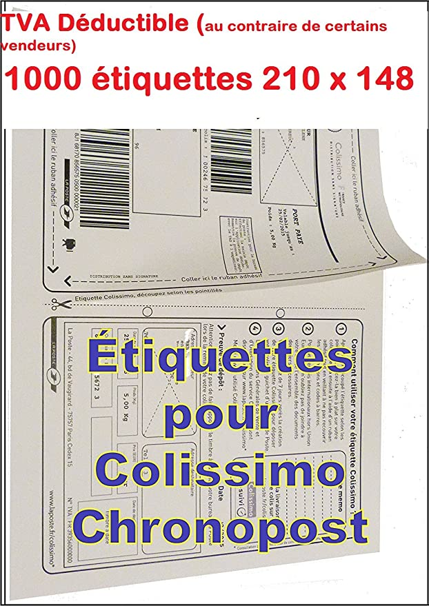 A4 Versand Etiketten Colissimo Chronopost Ups Geeignet