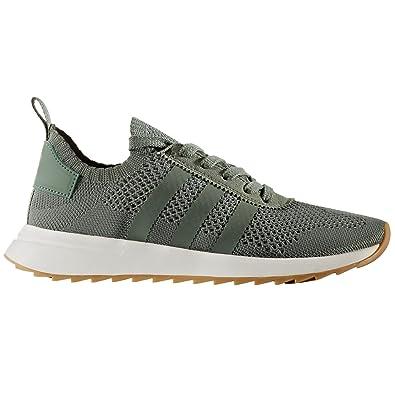 the best attitude 9e1ec b4f06 adidas Originals Womens FLB W PK Trainers - 6 Green
