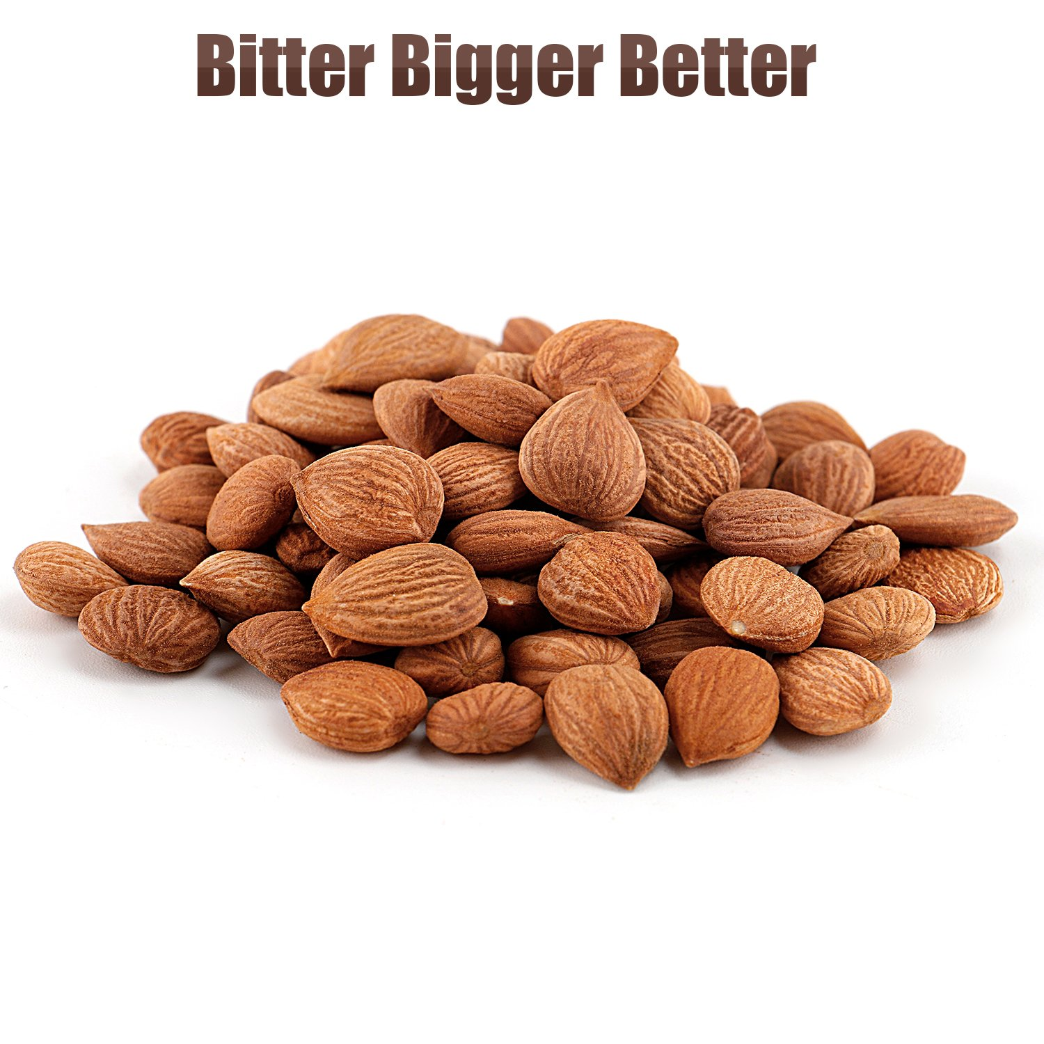 Organic Bitter Apricot Kernels(1LB) 16oz, Natural Raw USDA Organic Bitter Apricot Seeds, Vegan, Non-GMO, Gluten Free, Great source of Vitamin B17 and B15 by Mighty Apricot (Image #2)