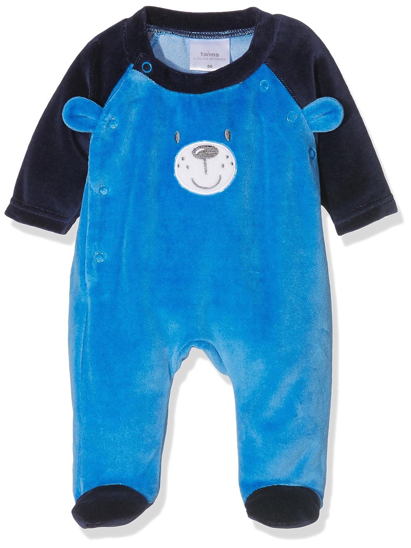 Twins Baby Boys Sleep & Playsuit Teddy Bear Julius Hüpeden GmbH 2 090 31