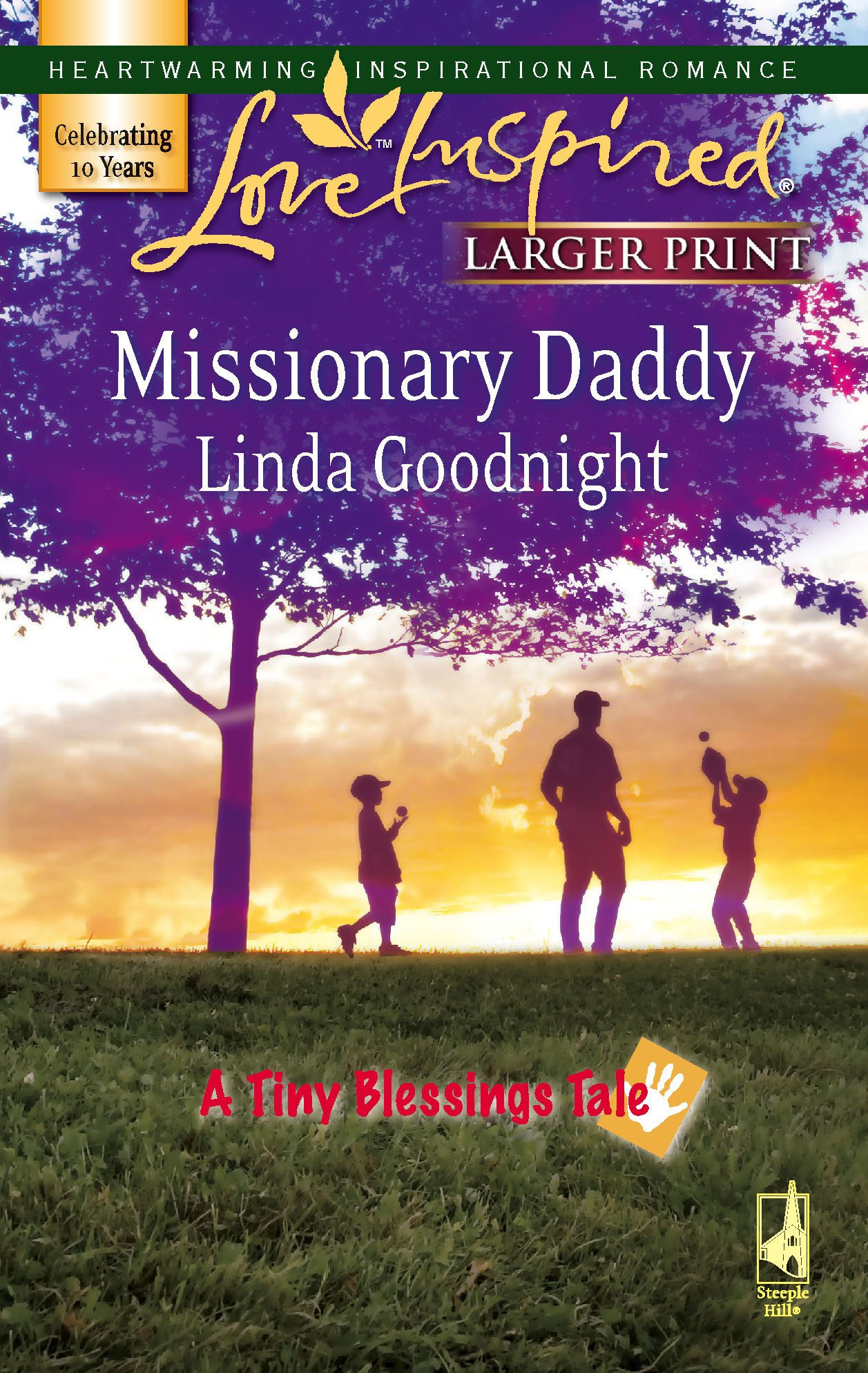 Missionary Daddy (A Tiny Blessings Tale #2) (Larger Print Love Inspired #408) pdf
