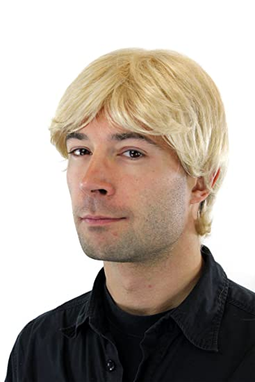 Wig Me Up Parrucca Uomo Toupet Colore Biondo Biondo