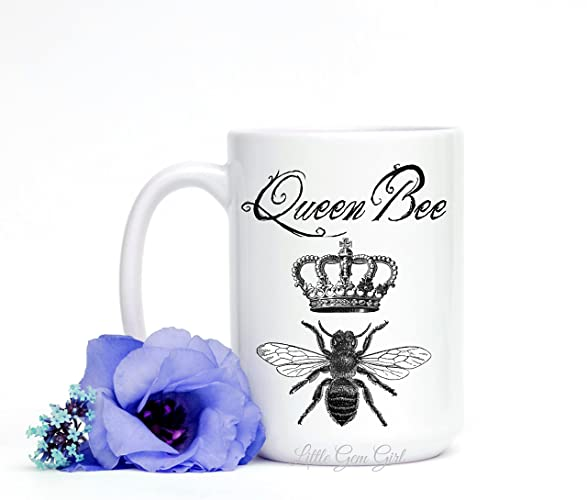 Amazon Queen Bee Funny Coffee Mug For Bosses Day