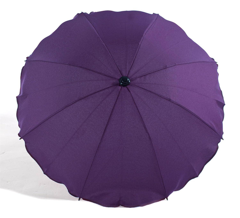 Violet Baby Sun Parasol//Universal Umbrella Shade Canopy for Pram Pushchair Stroller