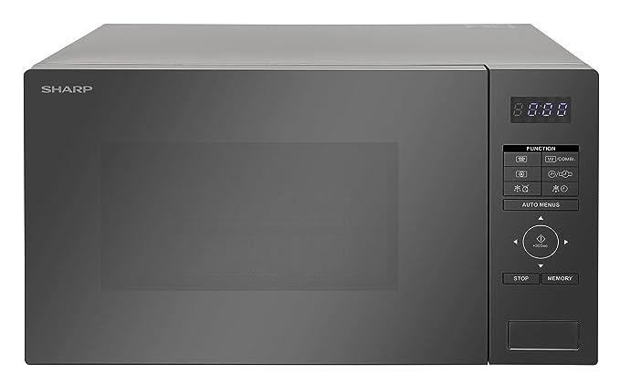Sharp r870s - Microondas compuesto 25L 900 W - Silver: Amazon.es ...