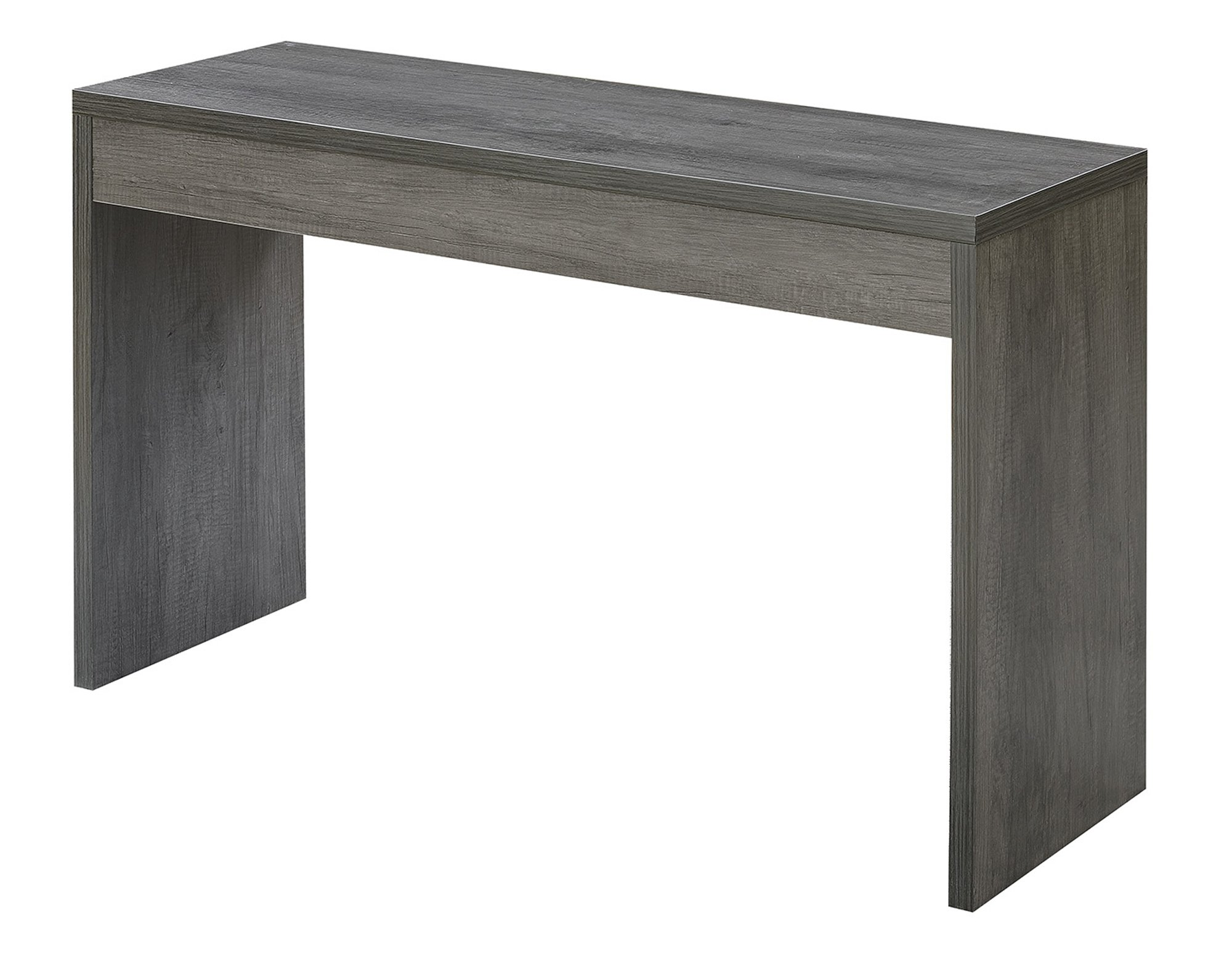 Convenience Concepts 111091WGY Northfield Hall Console Table, Weathered Gray