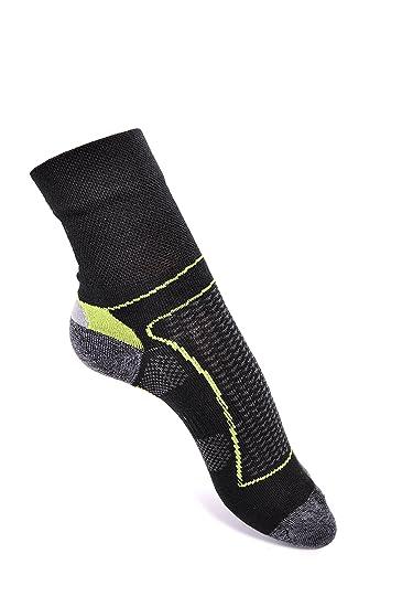 Adrian Antibacteriano calcetines técnicos de hombre Trekking Bike Run: Amazon.es: Ropa y accesorios
