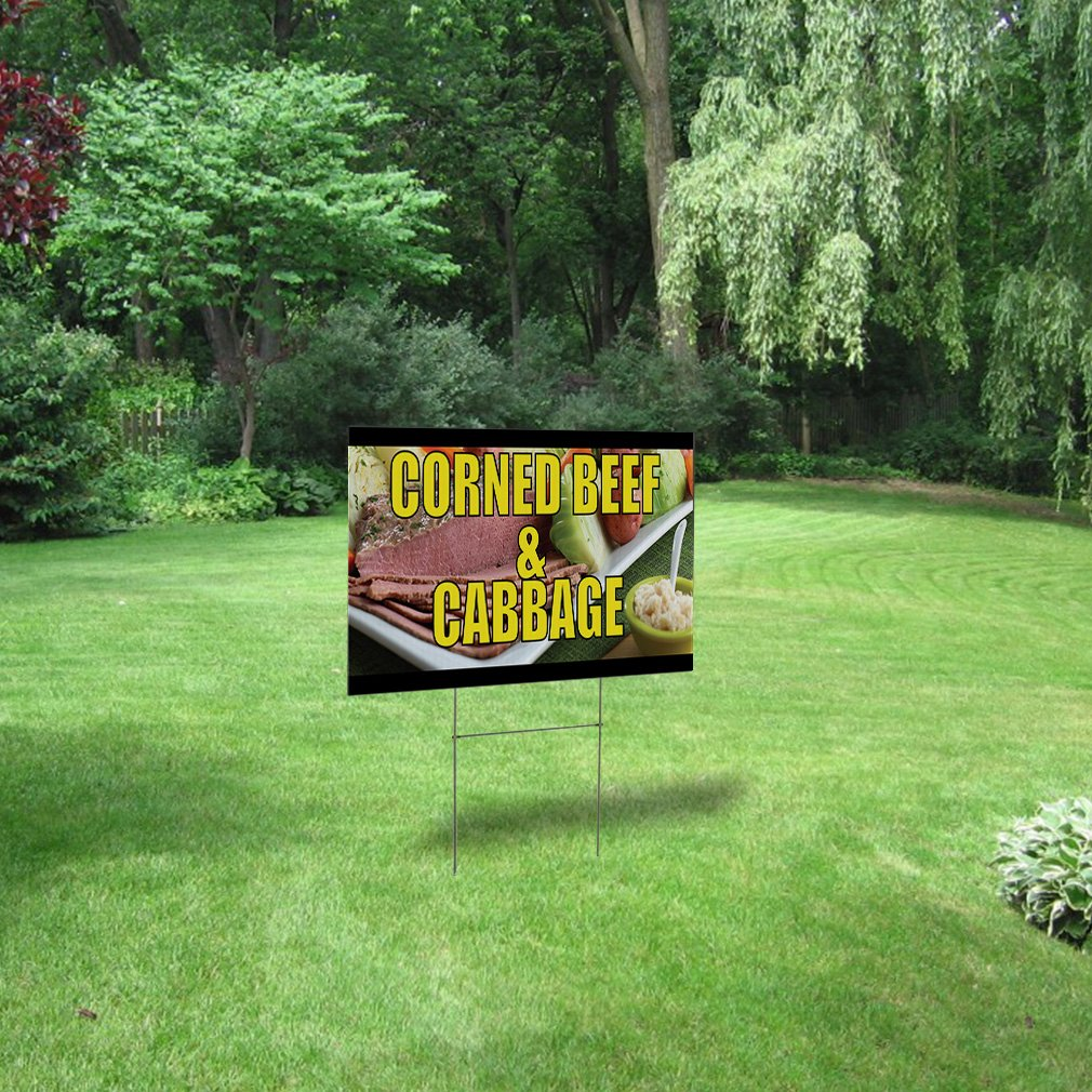 Home For Sale Custom Corrugated Plastic Yard Sign //Free Stakes