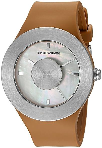 b65aa51e1472 Emporio Armani Damen-Armbanduhr ar7428 Fashion Silber  Amazon.de  Uhren