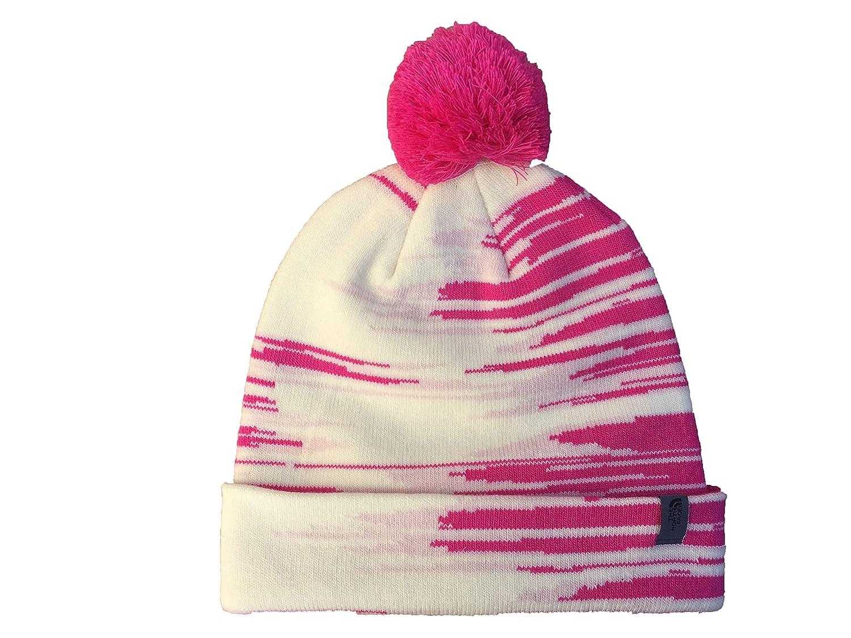 d307b7b0b Amazon.com: The North Face Youth Ski Tuke Beanie (Pink/White/Grey ...