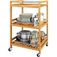 SoBuy® Estantería de cocina, carrito de cocina, estantería