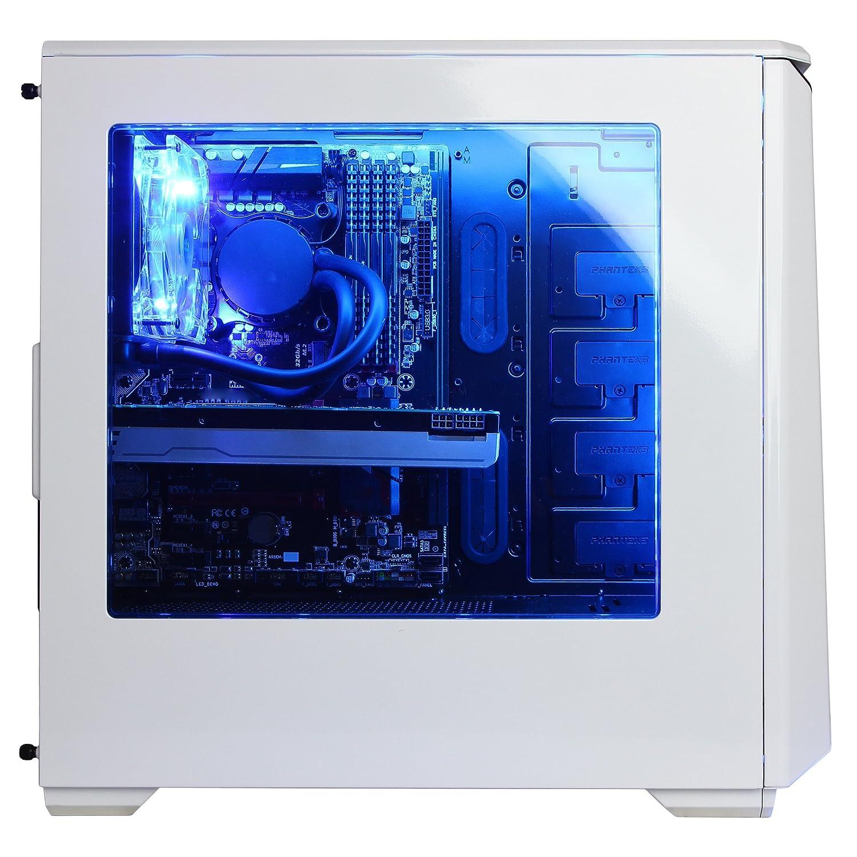 CYBERPOWERPC Gamer Panzer Liquid Cool PVP1050LQ Gaming Desktop 81aQOjg5%2BAL._SL1500_