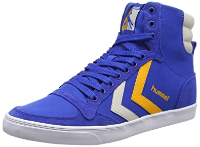 Chaussures Hummel Stadil bleues Fashion unisexe