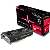 Sapphire Radeon 11265-05-20G Pulse RX 580 8GB GDDR5 Dual HDMI/ DVI-D/ Dual DP OC with Backplate (UEFI) PCI-E Graphics Card Gr