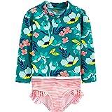 Simple Joys by Carters 2-Piece Swimsuit Trunk and Rashguard Beb/é-Ni/ños