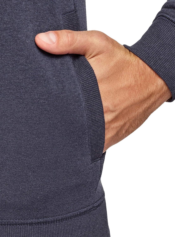 oodji Ultra Uomo Maglione con Collo Alto e Laccetti