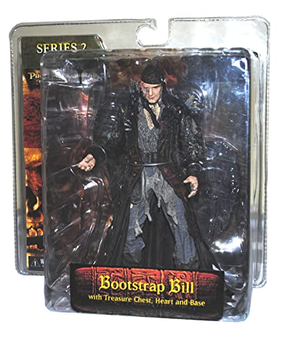 NECA Pirates of the Caribbean Dead Man\u0027s Chest Series 2 Action Figure  Bootstrap Bill Turner