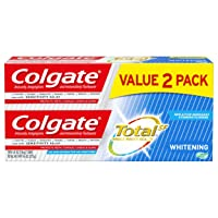 Colgate Total Whitening Toothpaste Gel - 4.8 ounce (2 Pack)