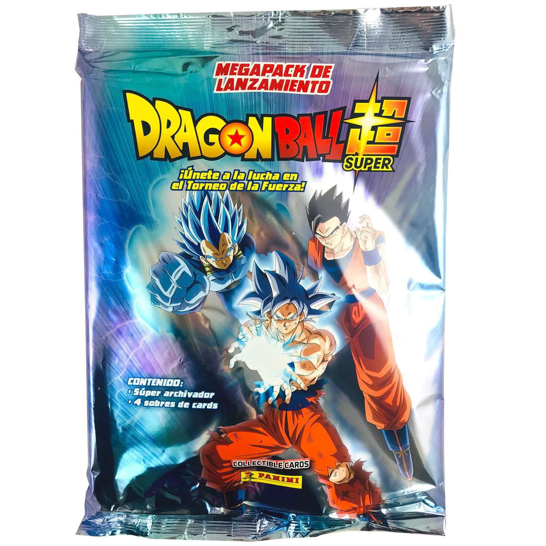 Panini Álbum Coleccionista Archivador + 4 Sobres Dragon Ball Super Collectible Cards