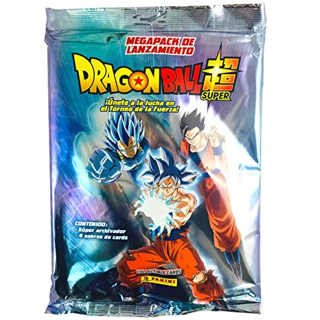 Panini Álbum Coleccionista Archivador + 4 Sobres Dragon Ball Super Collectible Cards