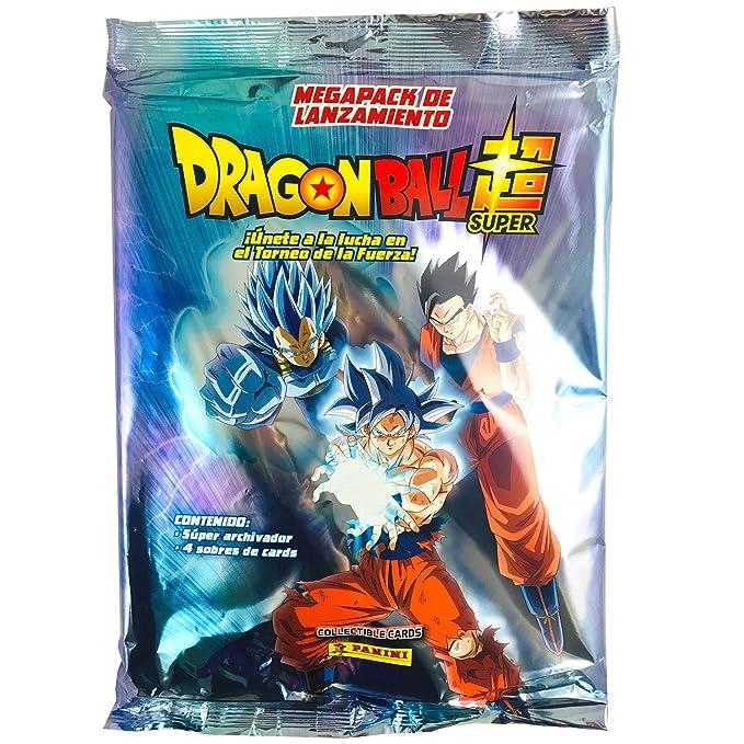 Panini Álbum Coleccionista Archivador + 4 Sobres Dragon Ball Super Collectible Cards: Amazon.es: Juguetes y juegos