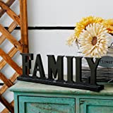 YK Decor Wooden Family Words Decorative Sign Free