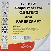 Sew Easy ER399 Imperial Grid Graph Paper
