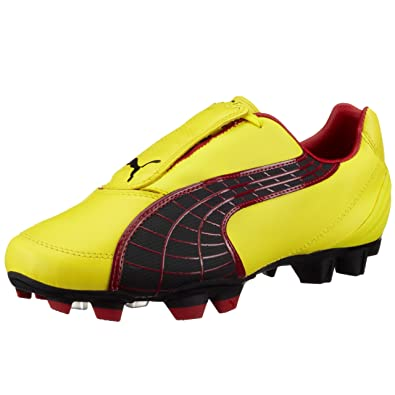 énorme réduction 9add5 f3ce9 Amazon.com | PUMA V3.10 i FG Mens Leather Soccer Boots ...