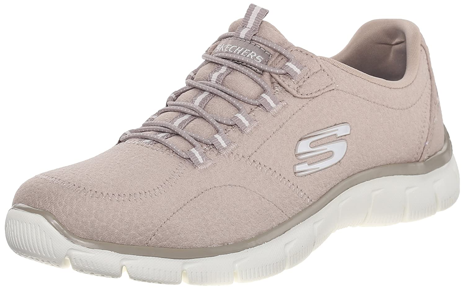 Skechers Damen Empire-Take CH Sneaker  375 EU|Beige (Tpe)