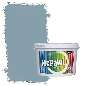 Elegant McPaint Bunte Wandfarbe Taubenblau   5 Liter   Weitere Blaue Farbtöne  Erhältlich   Weitere Größen Verfügbar