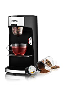 Gourmia GCM3600 Coffee Machine - Bean and Leaf Cafe Fresh Ground Coffee & Loose Leaf Tea Brewer
