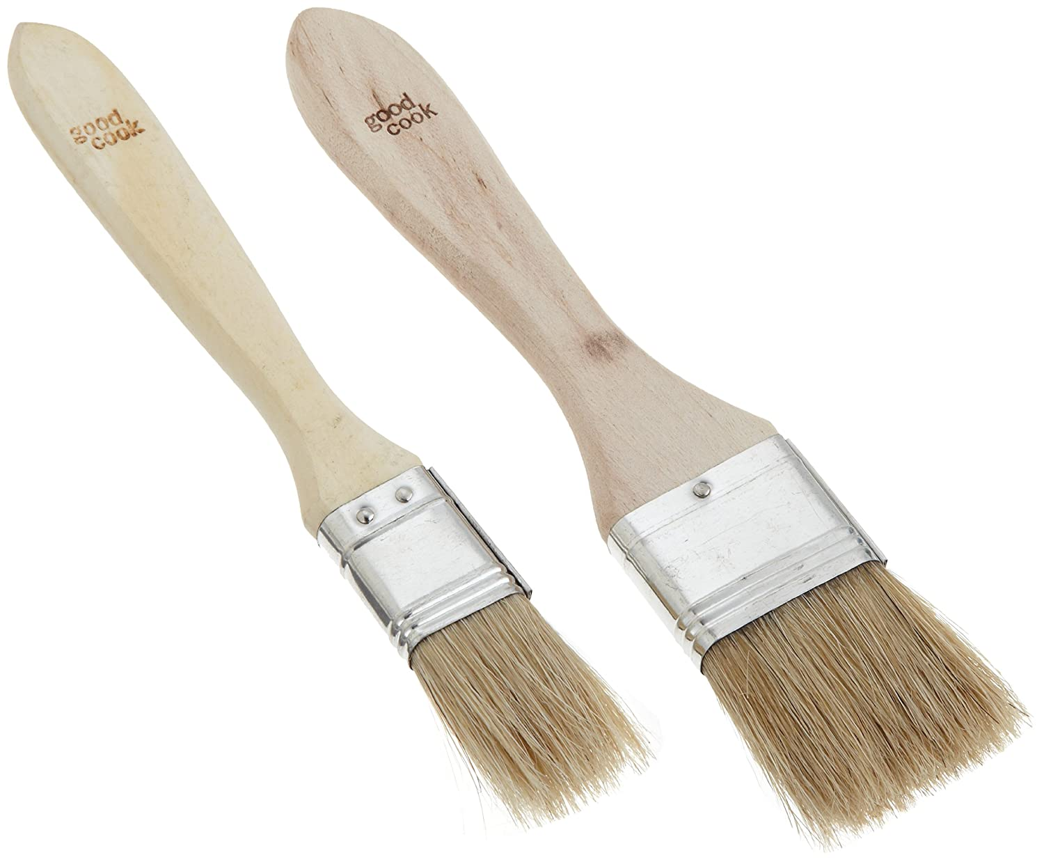 Amazon.com: Good Cook Classic Set Of 2 Pastry / Basting Brush: Kitchen U0026  Dining