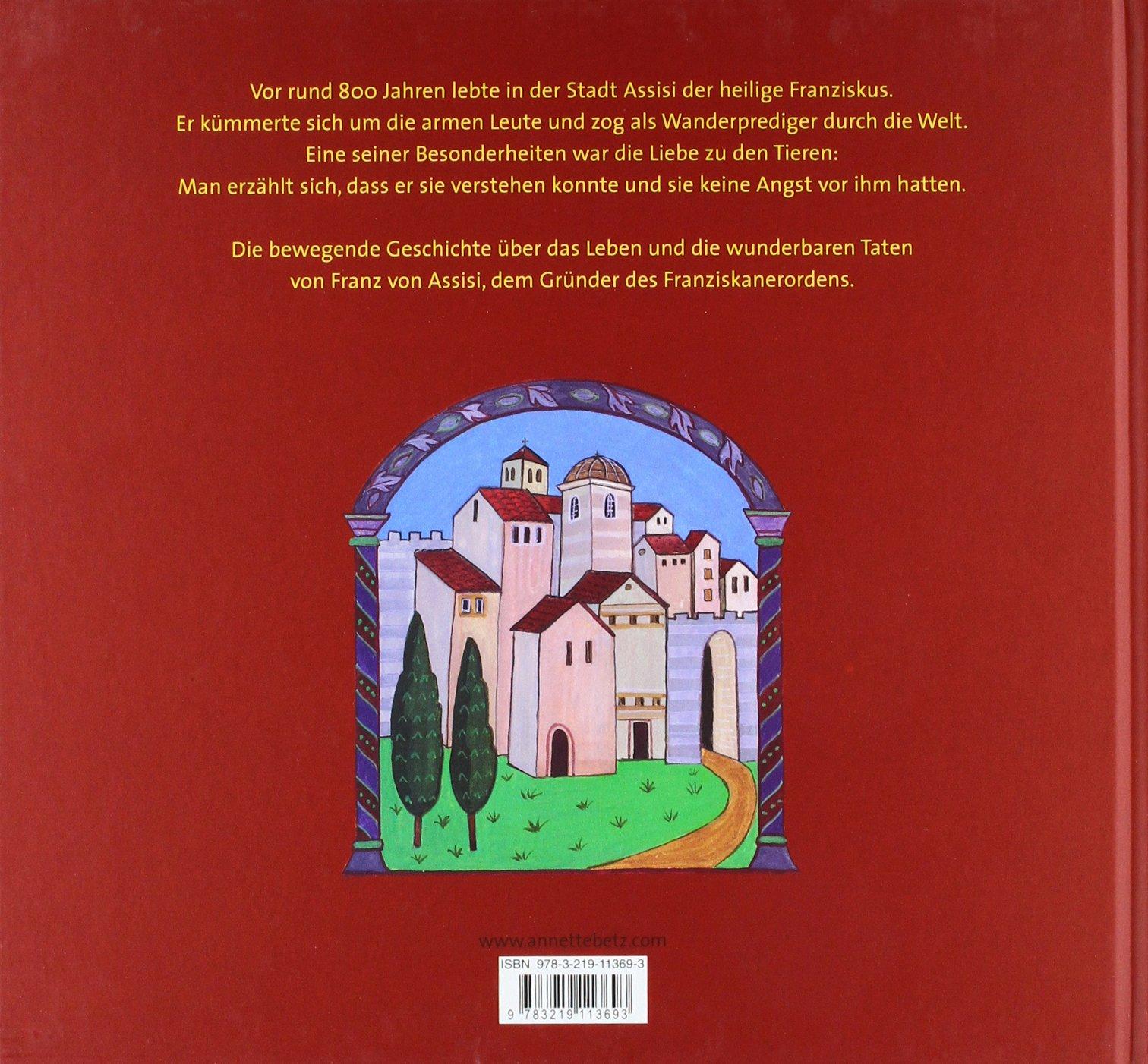 Franz Von Assisi Amazon Rosemarie Künzler Behncke Monika Zünd